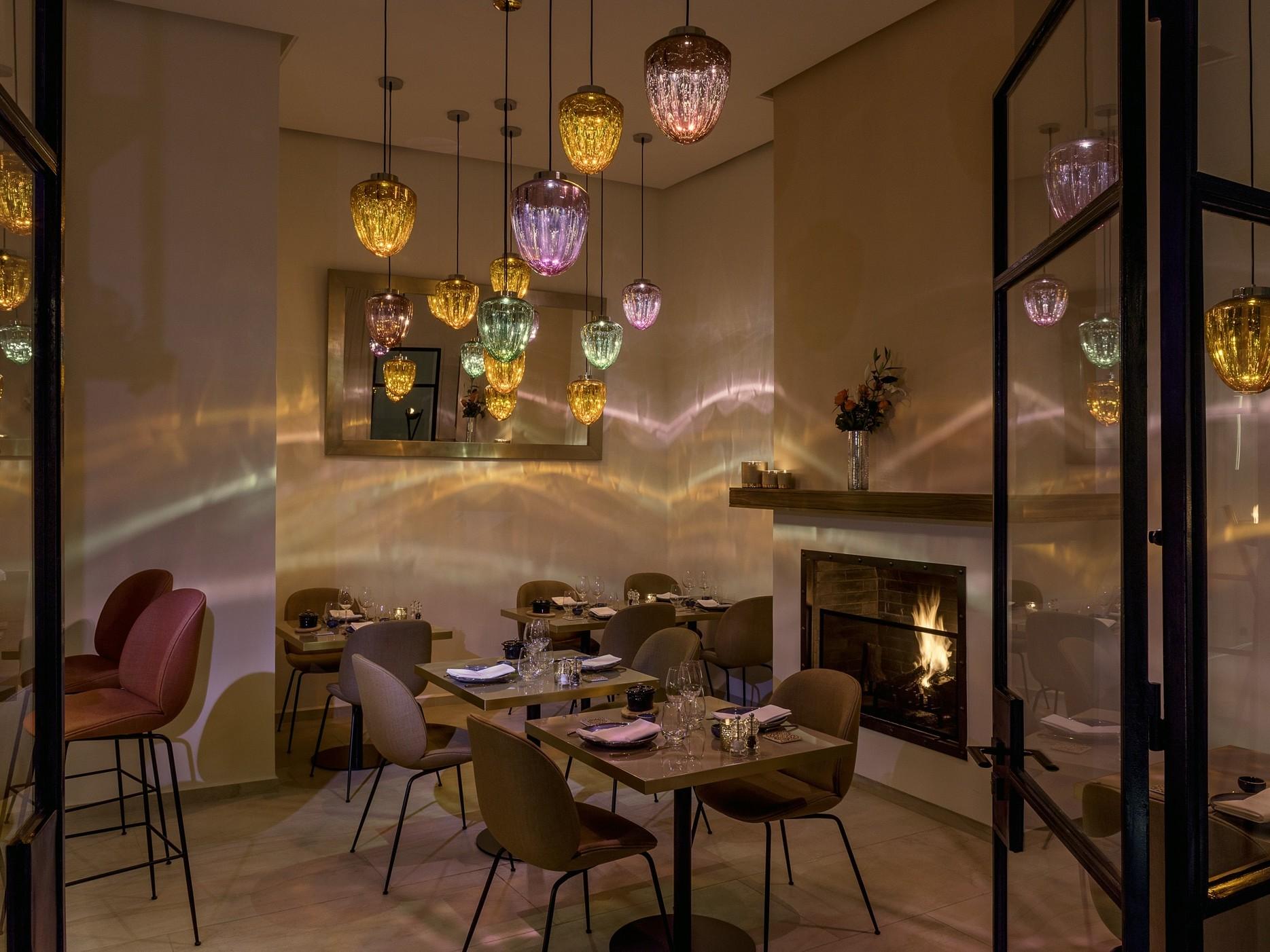 gastronomic restaurant in marrakech - hotel la brillante