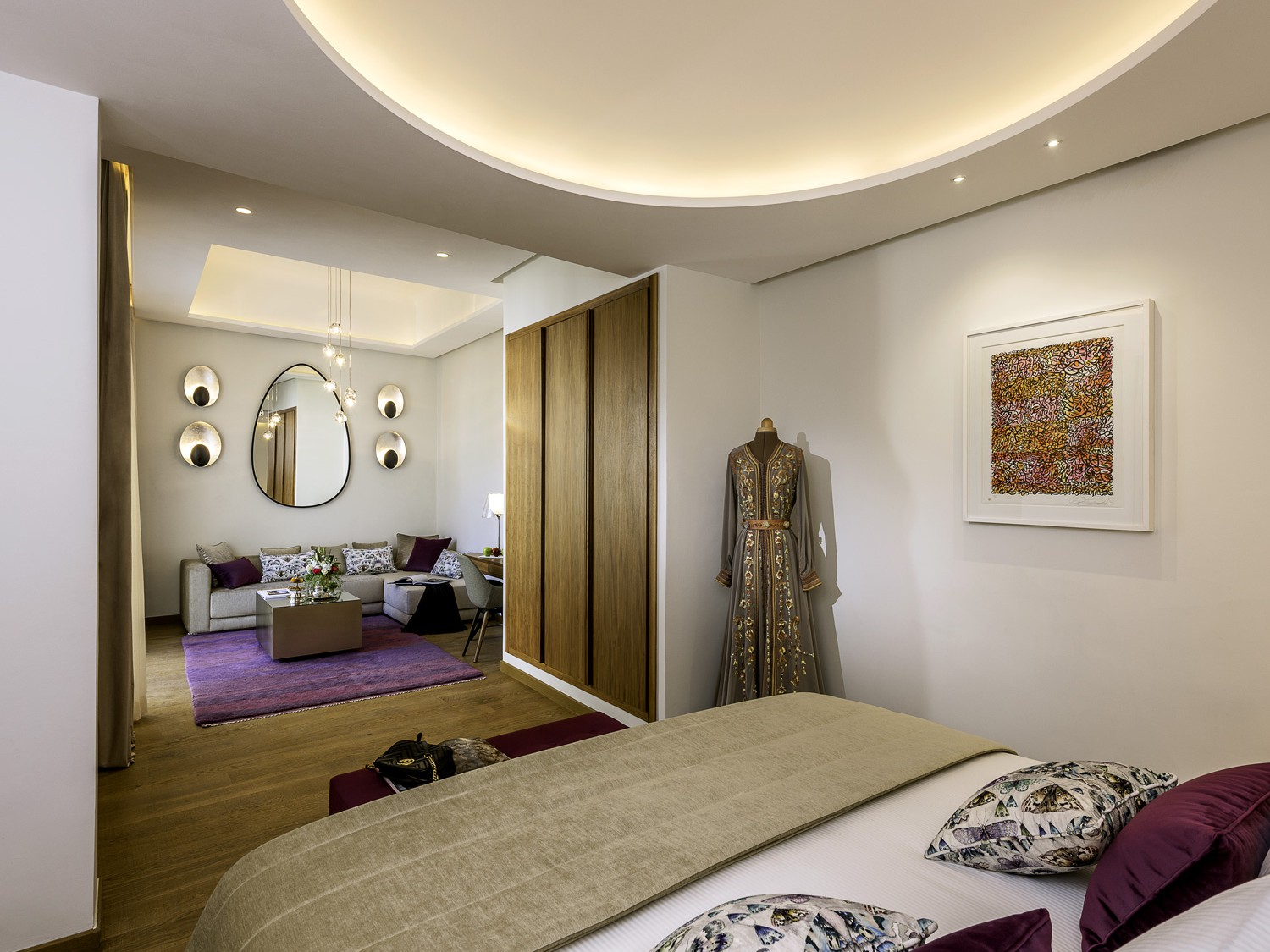 La brillante 5 stars luxury riad hotel in Marrakech - Photo of the room