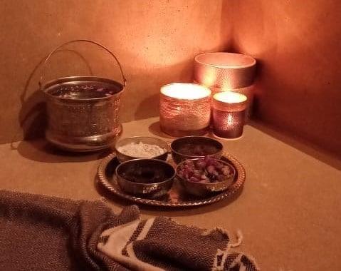 Le spa de l'hôtel la brillante à Marrakech